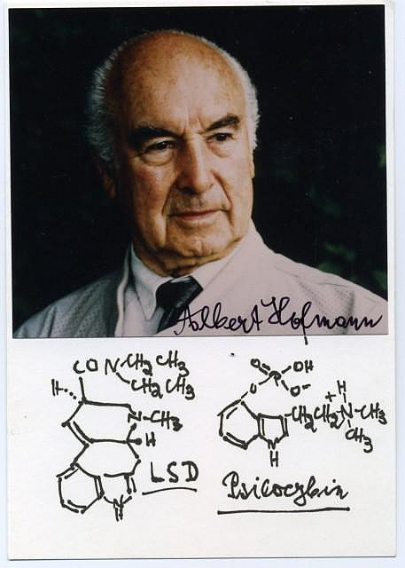 Albert Hofmann - vynálezce LSD